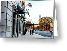 Hotel Washington Greeting Card