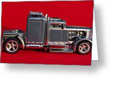 Hotwheels Semi Truck Greeting Card