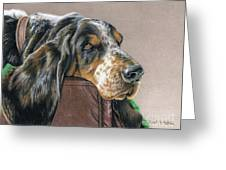 Hound Dog Greeting Card