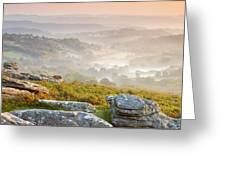 Hound Tor Greeting Card