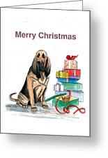 Hounddog Christmas Greeting Card
