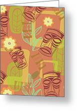 Hour At The Tiki Room Greeting Card