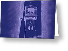 hour tower Lucca Greeting Card