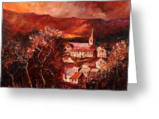 Hour Village 67 Greeting Card