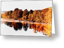 Housatonic River Mist Greeting Card