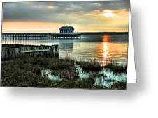 House At The End Of The Pier II Greeting Card
