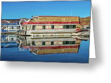 House Boats  Greeting Card