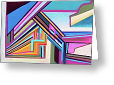 House By The Bay Greeting Card