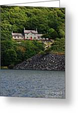 House By The Llyn Peris Greeting Card