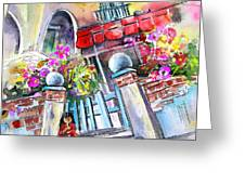 House Entrance In Garrucha Greeting Card