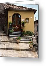 House Entrance  Greeting Card