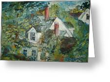 House In Gorham Greeting Card