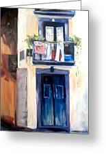 House In Lisbon Greeting Card