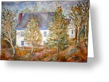 House In Portland Greeting Card