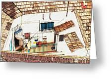 House In Santiago De La Ribera Greeting Card