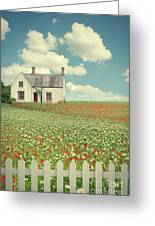 House In The Countryside Greeting Card