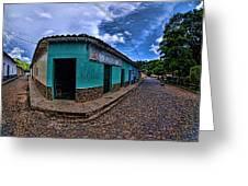 House Of Altagracia De Orituco Greeting Card