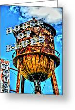 House Of Blues Orlando Greeting Card by Corky Willis Atlanta Photography