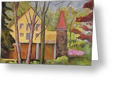 House Of Clara Barton Greeting Card