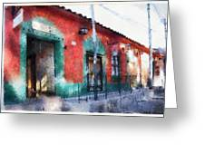 House Of El Hatillo Greeting Card