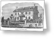 House Of John Hancock Greeting Card
