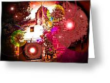 House Of Magic Greeting Card