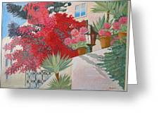 House Of The Cypriot.2003 Greeting Card