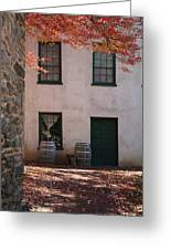 House Off Of Potomac St. Greeting Card