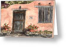 House On Delgado Street Greeting Card