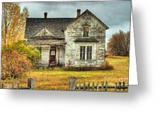 House On Elm Street Greeting Card