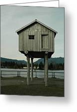 House On Stilts, Coal Harbour Vancouver Greeting Card