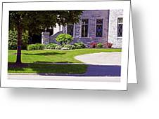 House On Wisconsin Avenue Greeting Card