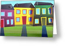 House Party 16 Greeting Card