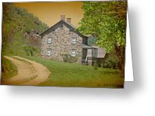 Housebythemountain Greeting Card