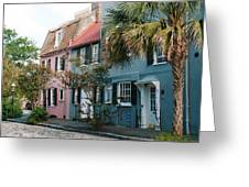 Houses In Charleston Sc Greeting Card