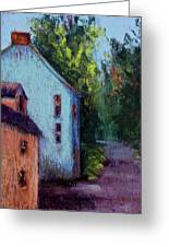 Houses In  Ireland Greeting Card