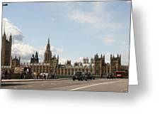 Houses Of Parliament.  Greeting Card