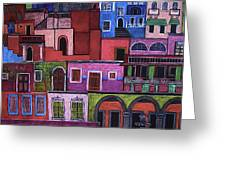 Houses Of San Miguel 2 Greeting Card