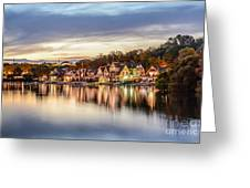 Houses On The Water Greeting Card