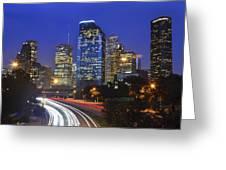 Houston City Life Greeting Card