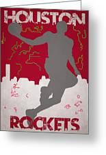 Houston Rockets Greeting Card