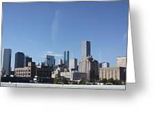 Houston Texas Skyline Greeting Card