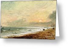 Hove Beach Greeting Card
