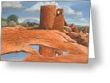 Hovenweep Reflection Greeting Card