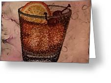 How About An Old Fashioned? Greeting Card