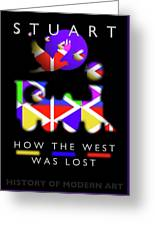 How The West Was Lost Greeting Card