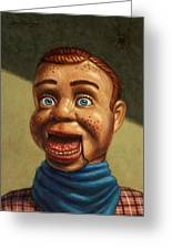 Howdy Doody Dodged A Bullet Greeting Card