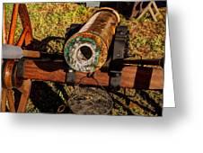 Howitzer Battle Of Honey Springs Greeting Card