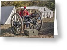 Howitzer Battle Of Honey Springs V3 Greeting Card