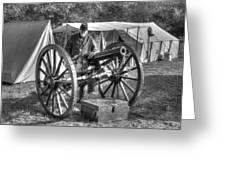 Howitzer Battle Of Honey Springs V4 Greeting Card